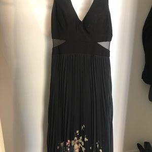 Xscape Black Dress. Size 10. Long Dress.